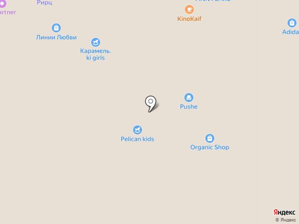 McDonald`s на карте Брянска