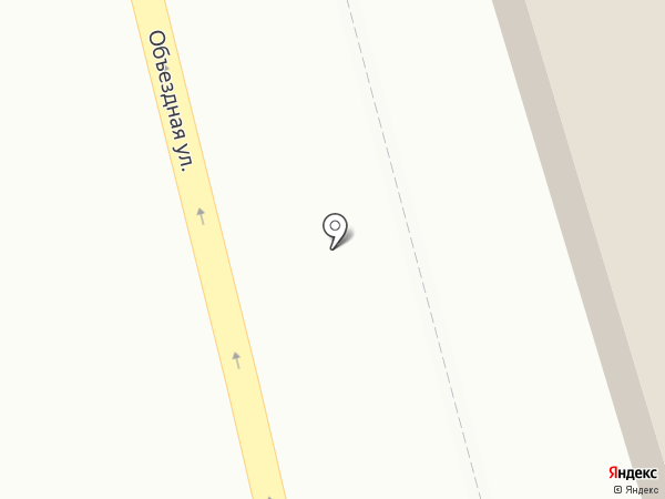 Строящееся административное здание по ул. Бежицкая на карте Брянска