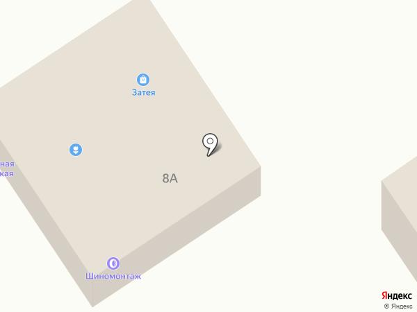 Магазин искуственных цветов и венков на карте Петрозаводска