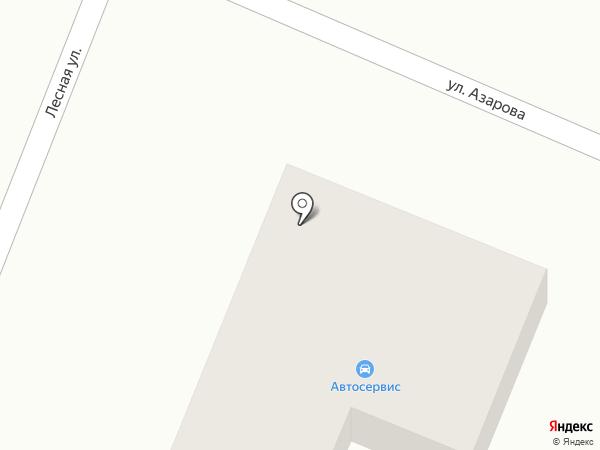 Автокузня на карте Брянска