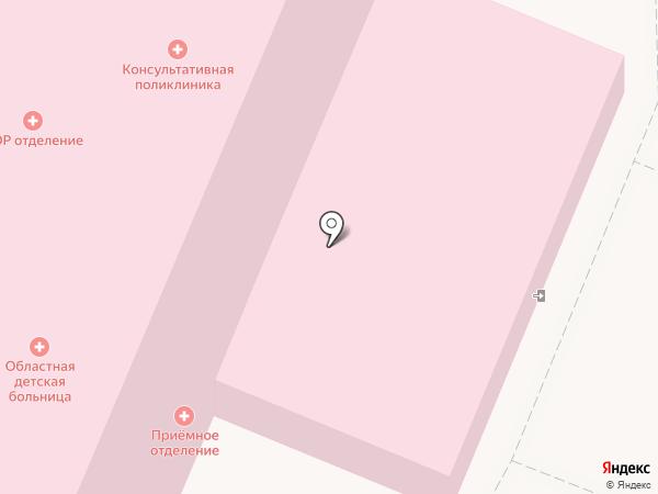 Детская поликлиника на карте Брянска