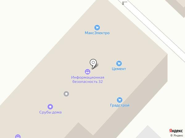 НьютонЭлектро, ГК на карте Брянска