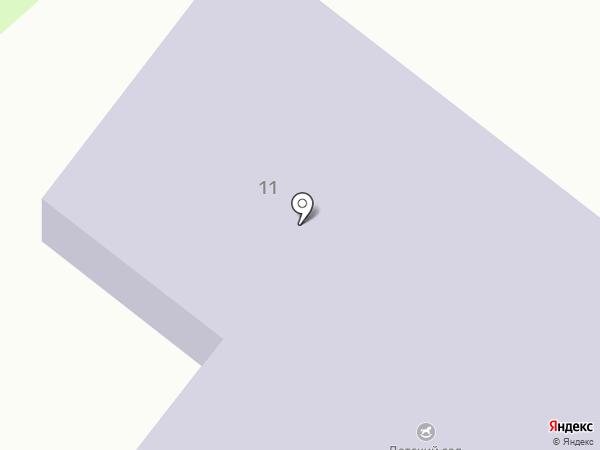 Детский сад №23, Огонек на карте Петрозаводска