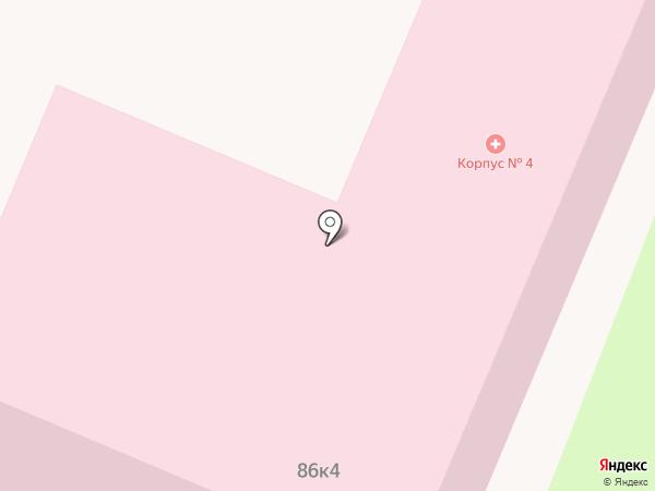 Брянская областная больница №1 на карте Брянска