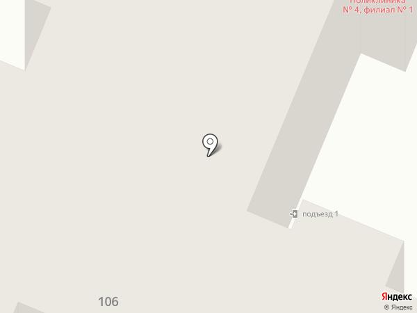Брянская городская поликлиника №4 на карте Брянска