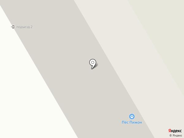 Татьянка на карте Петрозаводска
