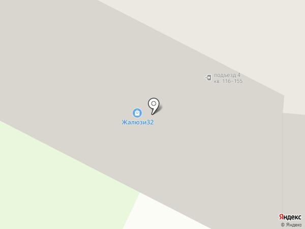 Первый дверной на карте Брянска