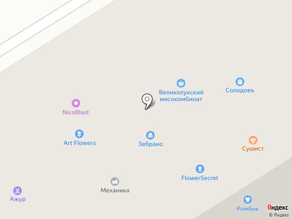 ABS на карте Петрозаводска