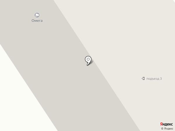 ОМЕГА, ТСЖ на карте Петрозаводска