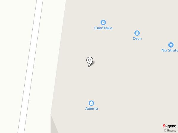 Kaner на карте Брянска