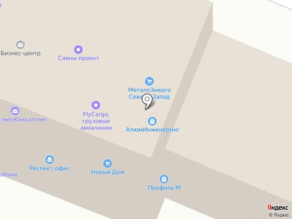 Регионзнак на карте Брянска