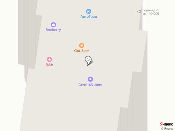 Салон оптики на карте Брянска