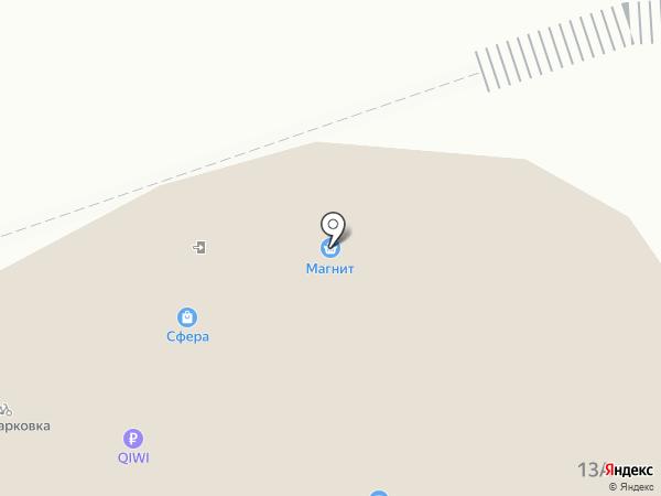 Ключник на карте Брянска
