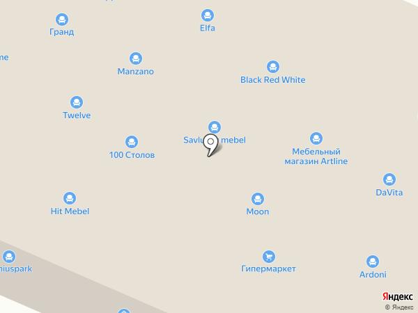 Лига Билд на карте Брянска