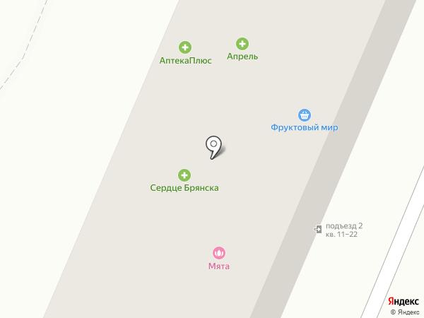 Друг на карте Брянска
