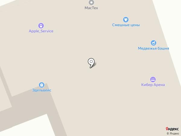 TEvent Arena на карте Брянска