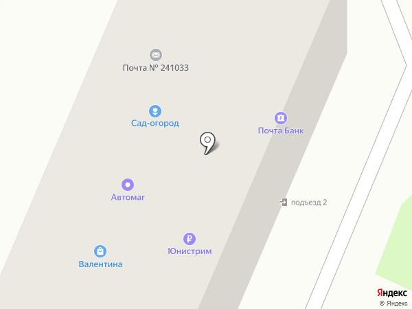Магазин товаров для рыбалки на карте Брянска