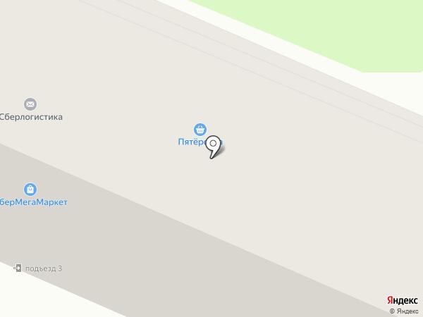 Сбербанк, ПАО на карте Брянска