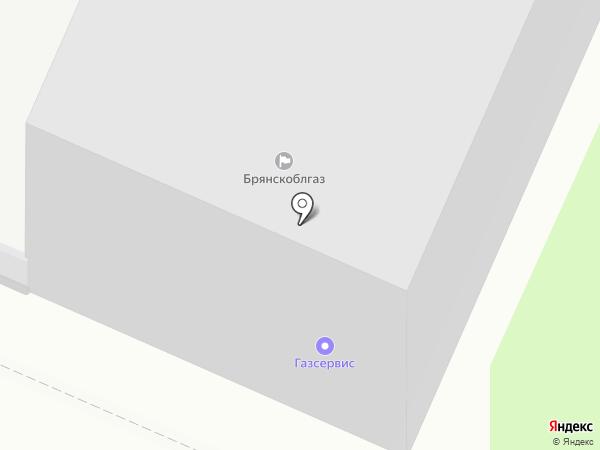 Брянск Газ-сервис на карте Брянска