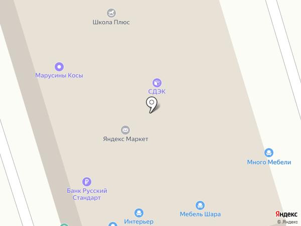 Царь-мебель на карте Брянска