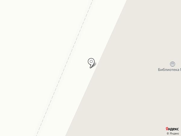 Городская библиотека №8 на карте Петрозаводска