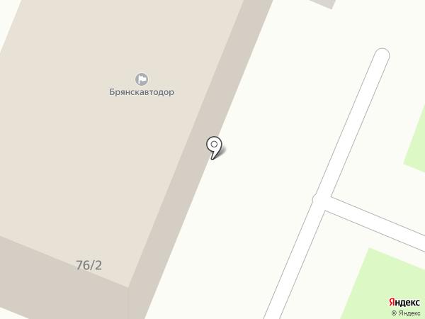 Брянский дорожно-ремонтный строительный участок на карте Брянска