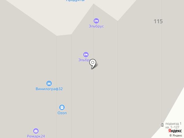 Навля Трак на карте Брянска
