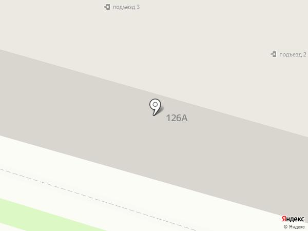 Кристина на карте Брянска