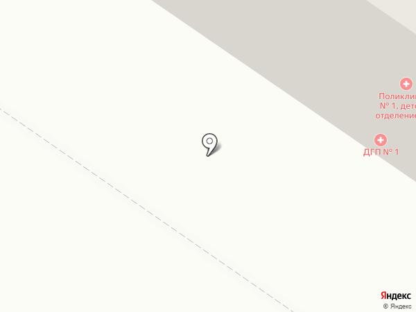 Городская детская поликлиника №1 на карте Петрозаводска