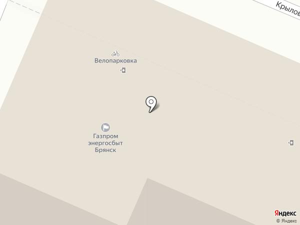 Брянскэнергосбыт на карте Брянска