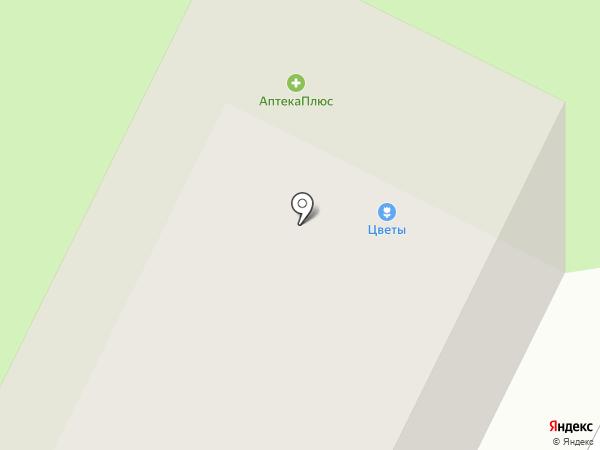 Цветочный магазин на карте Петрозаводска
