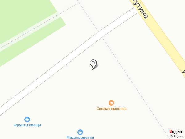 Иней на карте Петрозаводска