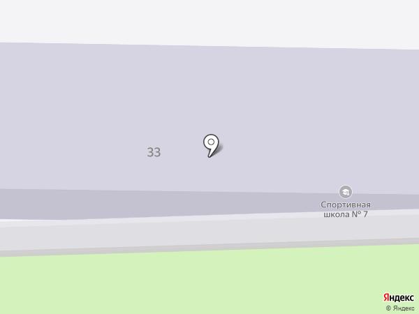 ДЮСШ №7 на карте Петрозаводска