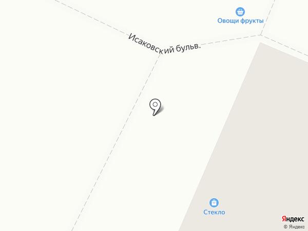 Студия стекла на карте Петрозаводска