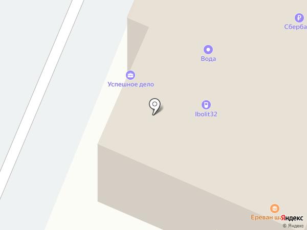 Автокомплект на карте Брянска