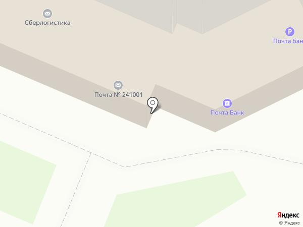 Банкомат, Почта Банк, ПАО на карте Брянска