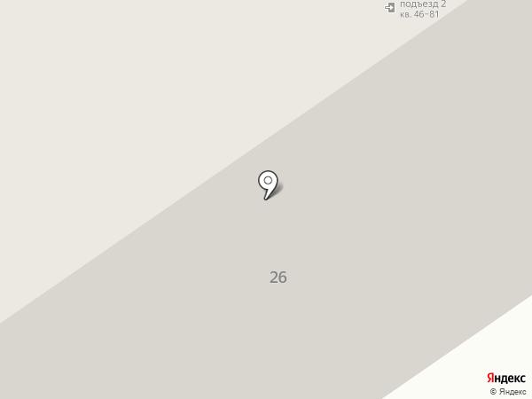 Ватутина 26 на карте Петрозаводска