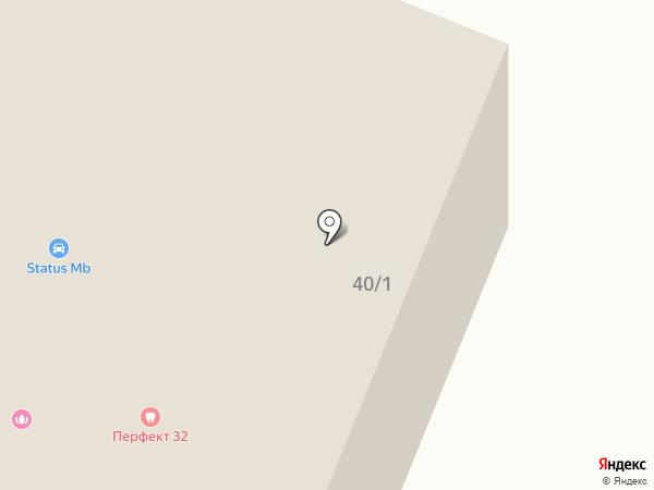 ЭТМ на карте Брянска