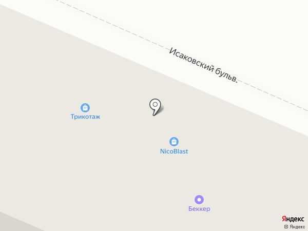 Магазин на карте Петрозаводска