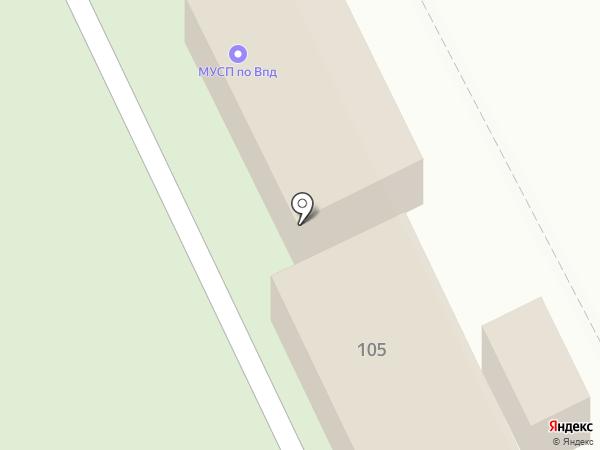 Лунный свет на карте Брянска