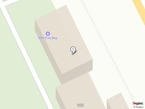 Центральное кладбище Советского района на карте Брянска