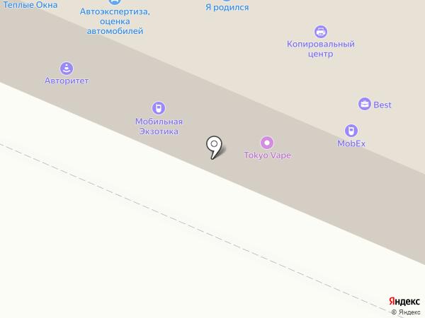 Нить Ариадны на карте Петрозаводска