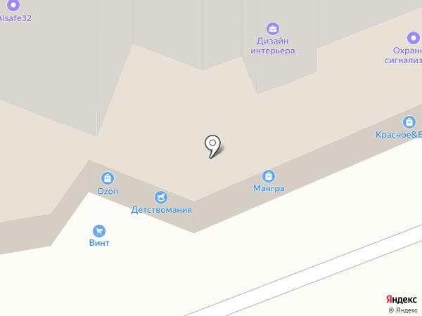 Детствомания на карте Брянска