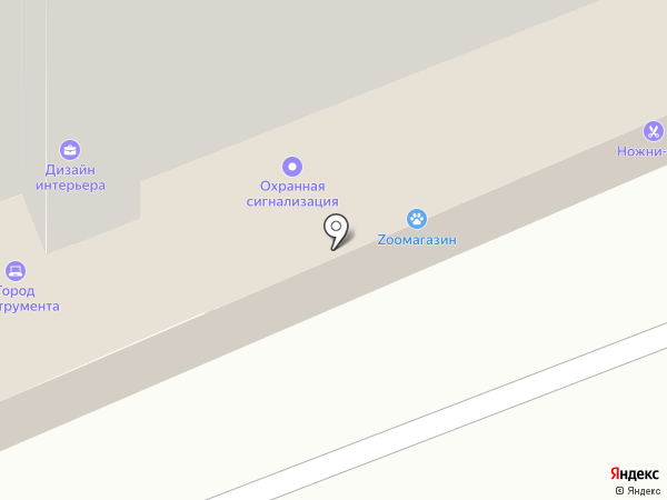 Ирида-Сервис на карте Брянска