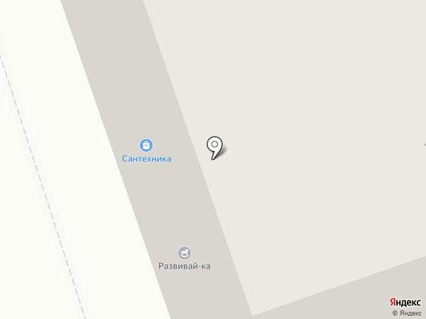 Бумеранг на карте Брянска