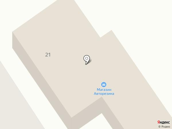 Авторезина на карте Петрозаводска
