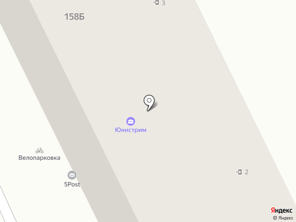 Барьер на карте Брянска