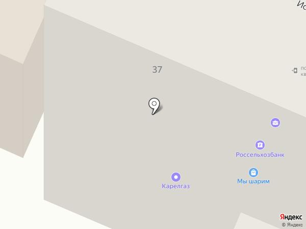 УРАЛСИБ на карте Петрозаводска