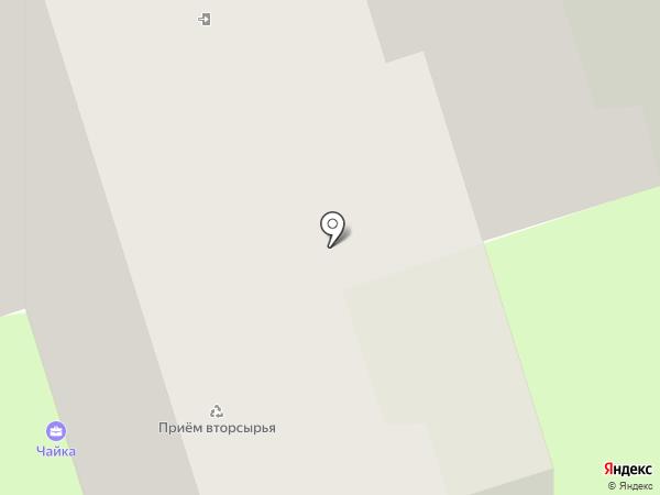 Общежитие на карте Брянска