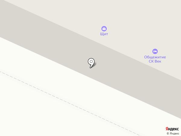 Щит на карте Петрозаводска